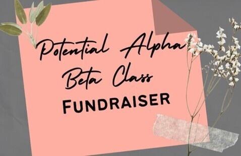 Potential Alpha Beta Class Fundraiser