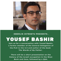 Yousef Bashir on the Israeli Occupation