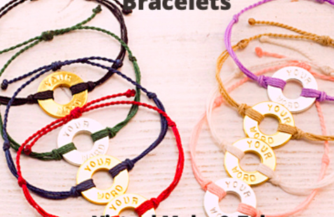 Intentional Bracelets: Create and Receive your own Bracelets