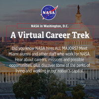 NASA in Washington, D.C. - A Virtual Career Trek (April 27)