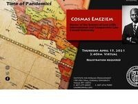 Institute for African Development Seminar: African States, the World Health Organization and the Global Health Policy in the Time of Pandemics