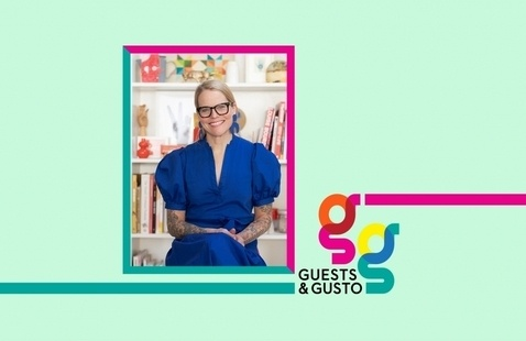 Make creative magic for impressive clients with illustrator Lisa Congdon on 'Guests and Gusto'