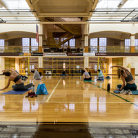 Yoga in Grace Hall