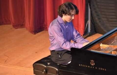 Student Piano Recital, Diego Bustamante