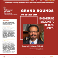 Diversity Week - Engineering Medicine to Improve Health