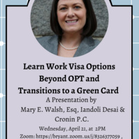 Learn Work Visa Options Beyond OPT and Transitions to a Green Card
