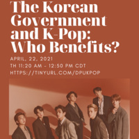 The Korean Government and K-Pop: Who Benefits?