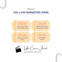 USC x UW Marketing Week: Marketing in Entertainment