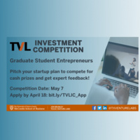 Spring 2021 Texas Venture Labs Investment Competition