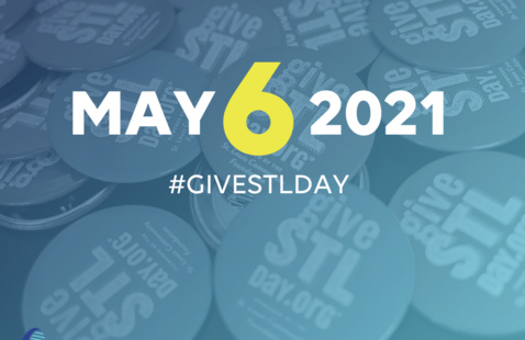 Give STL Day Logo, May 6, 2021