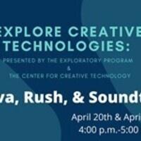 Explore Creative Technologies: Canva, Rush, & Soundtrap