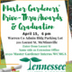 Warren County Master Gardeners Drive-thru Awards