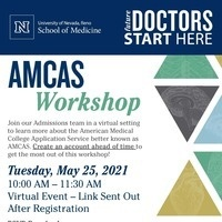 AMCAS Workshop Flyer