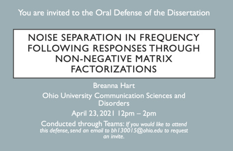 Breanna Hart Dissertation Defense