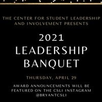 Annual CSLI Student Leadership Awards Banquet (Session 2)