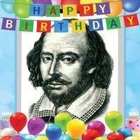 Happy 457th Birthday, Shakespeare!
