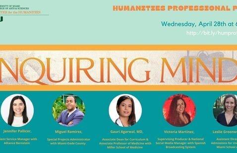 Humanities Professional Panel