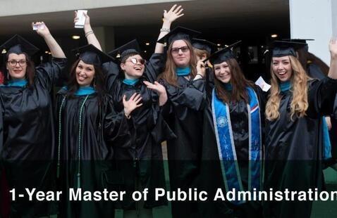 MPA graduates