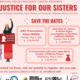 Seeking Justice for Our Sisters: A Virtual Event Series Dedicated to Raising Awareness About Missing and Murdered Indigenous Women and Girls
