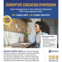 Disruptive Education Symposium