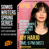 A Reading and Conversation with Joy Harjo, Poet Laureate of the US