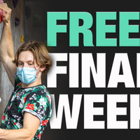 Free Finals Week: Bouldering in the Climbing Gym