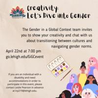 Creativity: Let's Dive into Gender | Center for Gender Equity