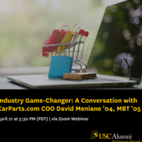 Industry Game-Changer: A Conversation with CarParts.com COO David Meniane '04