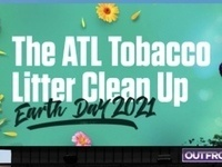 No Menthol in The ATL Tobacco Litter Clean Up