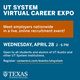 University of Texas System Virtual Career Expo