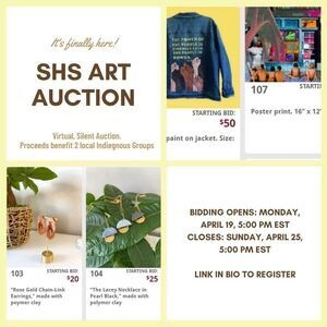Art Auction E-Flyer