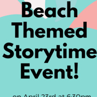 Virtual StoryTime Event for children and their caregivers