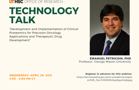 Technology Talk: Sponsored by the Office of Research