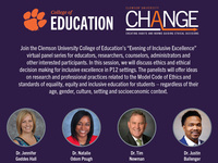College of Education's Ethics & Ethical Decision Making for Inclusive Excellence (co-sponsored by CHANGE)