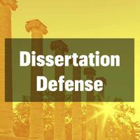 Dissertation Defense - Chad E. Harris
