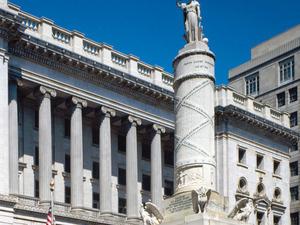 Gargoyles, Landmarks and Lions: Downtown Baltimore