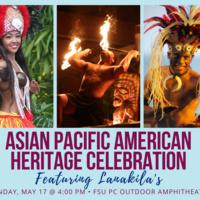 Images of Pacific Islander dancers