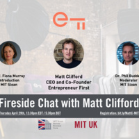 Fireside Chat with Matt Clifford from Entrepreneur First