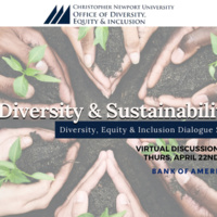 Office of Diversity, Equity & Inclusion Dialogue Panel - Diversity & Sustainability