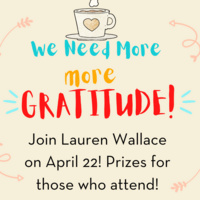 Gratitude Event by Lauren Wallace