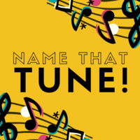 """""""Name That Tune"""" with music notes"""