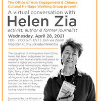 A virtual conversation with Helen Zia