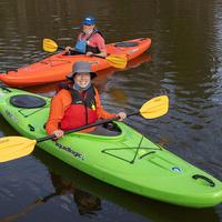 2 kayakers