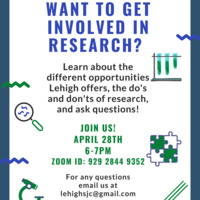 Want To Get Involved in Research?