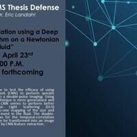 MS Physics Thesis Defense by Sans Basnet