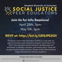 Social Justice Peer Education Program