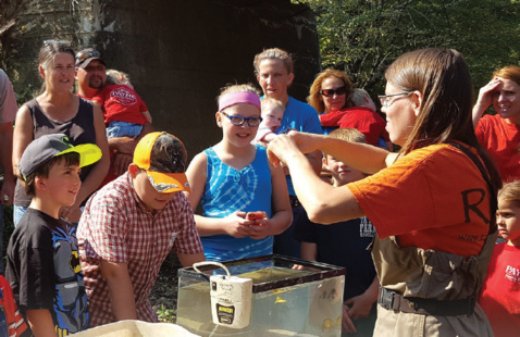 Outdoor STEM and Place-Based Learning Professional Development Trainings
