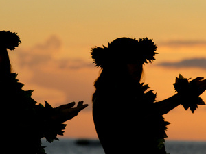 The Story of the Lūʻau: Dance and Cooking Demonstration