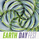 Earth Day Fest. There is a picture of a bright green succulent plant on this picture.