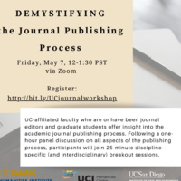 Demystifying the Journal Publishing Process